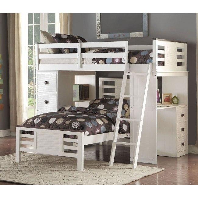Florrie Youth Loft Bedroom Set