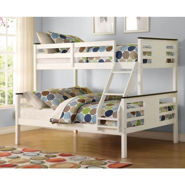 Florrie Youth Twin over Full Bunk Bed