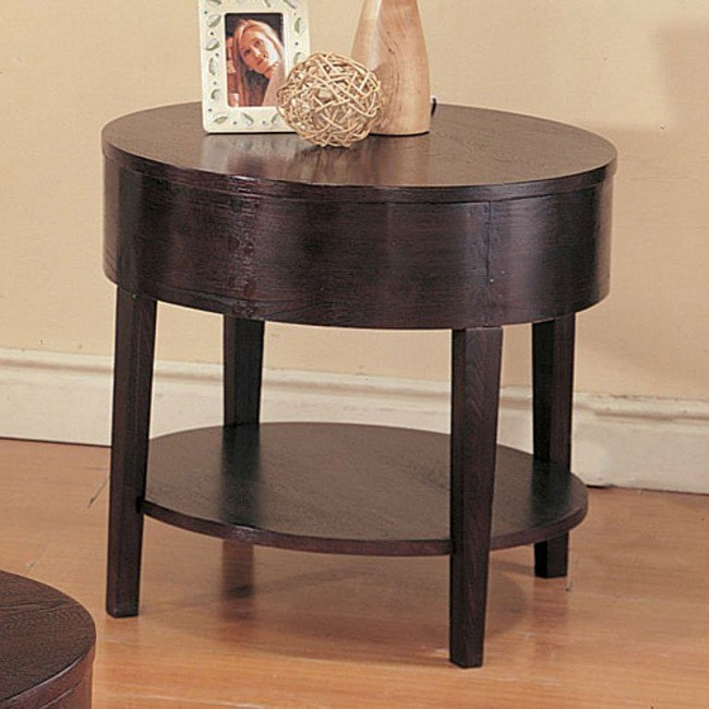 Gough Round End Table
