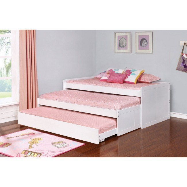 Aaron Triple Daybed (White)