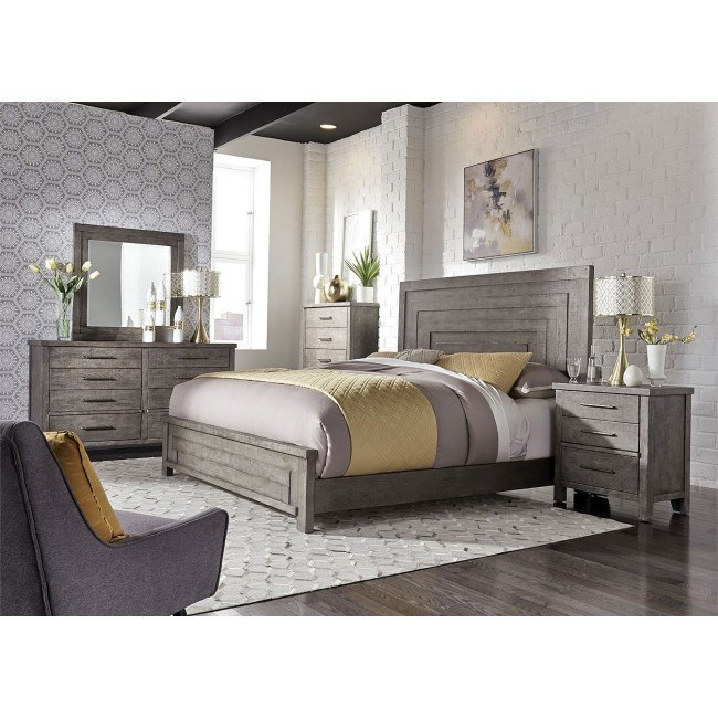 Modern Farmhouse Panel Bedroom Set