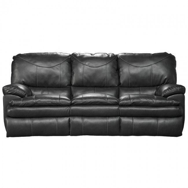 Perez Reclining Sofa (Steel)