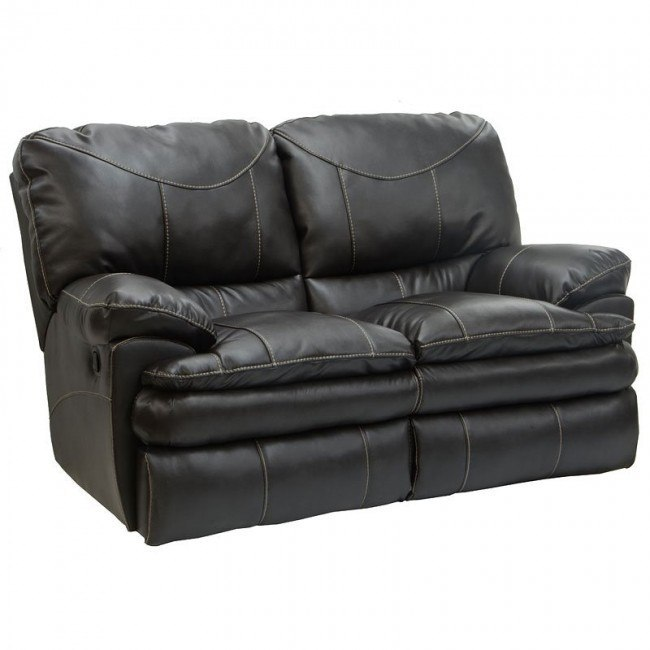 Perez Reclining Loveseat (Steel)