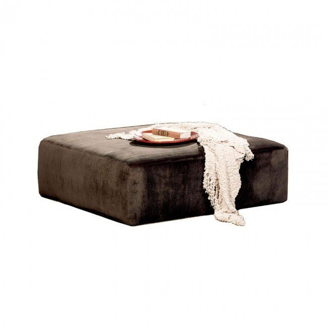 Everest 40 Inch Cocktail Ottoman (Chocolate)