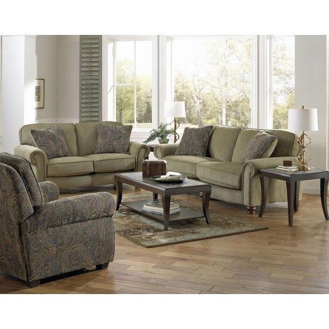 Downing Living Room Set (Fern)