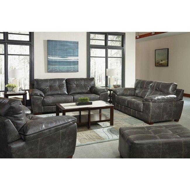 Hudson Living Room Set (Steel)