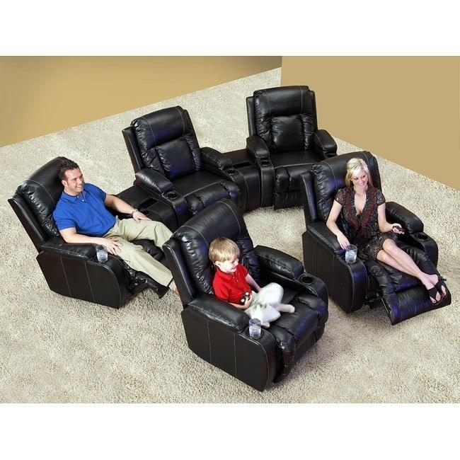 TopGun Modular Theater Seating (Black)