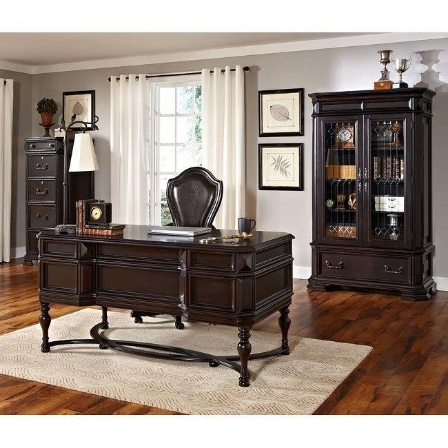 Lexington Home Office Set w/ Leg Desk