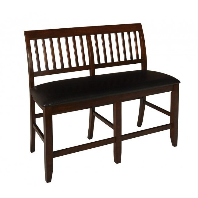 Kaylee Counter Height Bench (Tudor Brown)