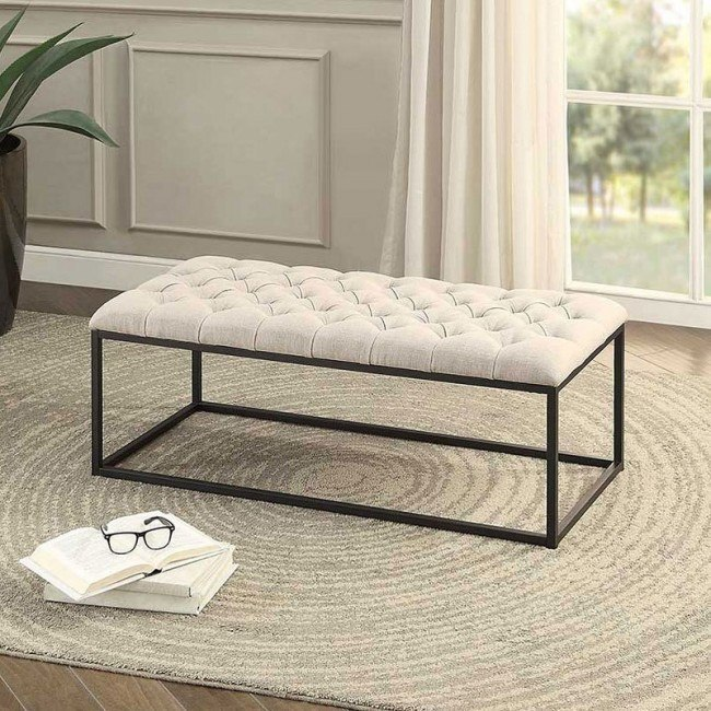Destry Beige Bench