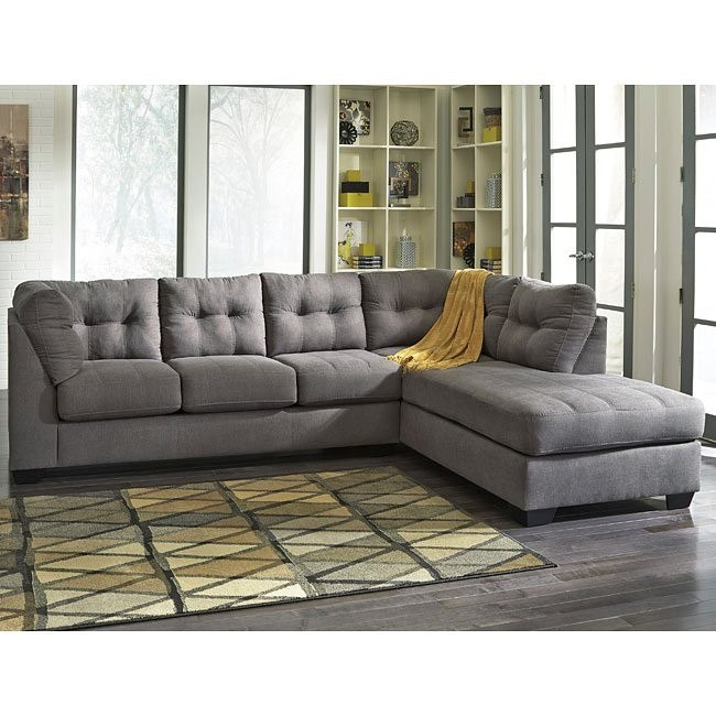 Maier Charcoal Right Chaise Sectional