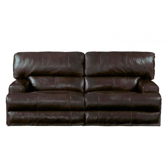 Pleasant Wembley Lay Flat Reclining Sofa Chocolate Pabps2019 Chair Design Images Pabps2019Com