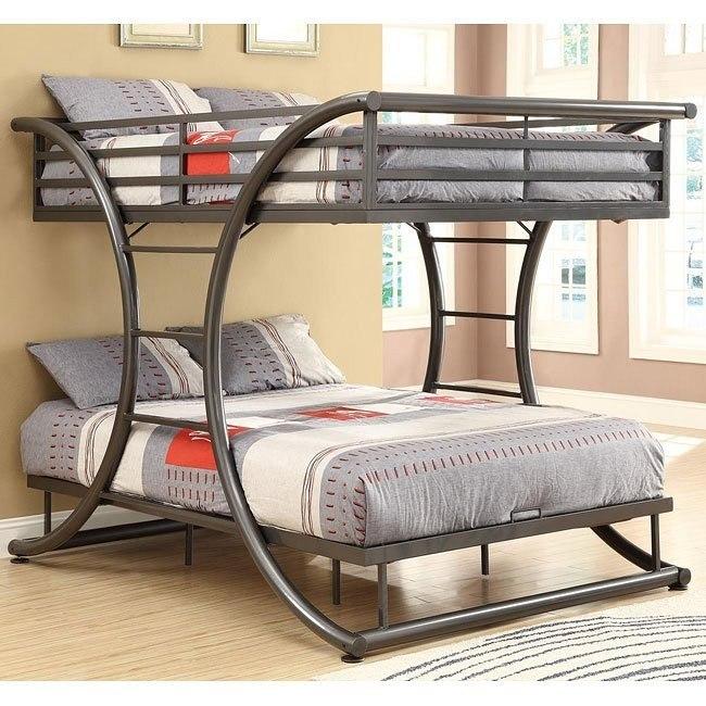 Gunmetal Bunk Bed