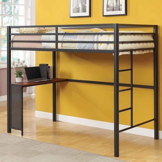 Metal Workstation Twin Bed