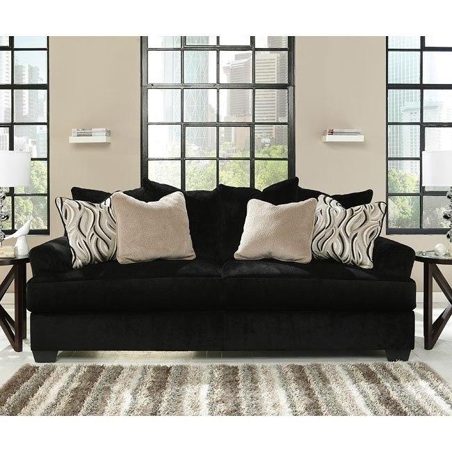 Heflin Ebony Sofa