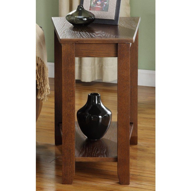 Elwell Chairside Table (Espresso)
