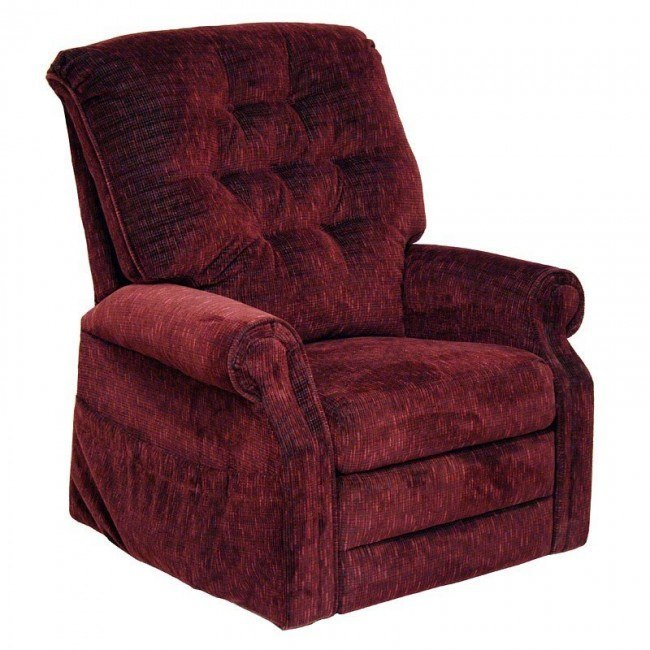 Patriot Power Lift Full Lay-Out Recliner (Vino)
