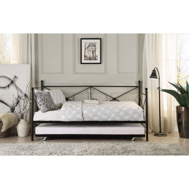 Jones Metal Daybed w/ Trundle