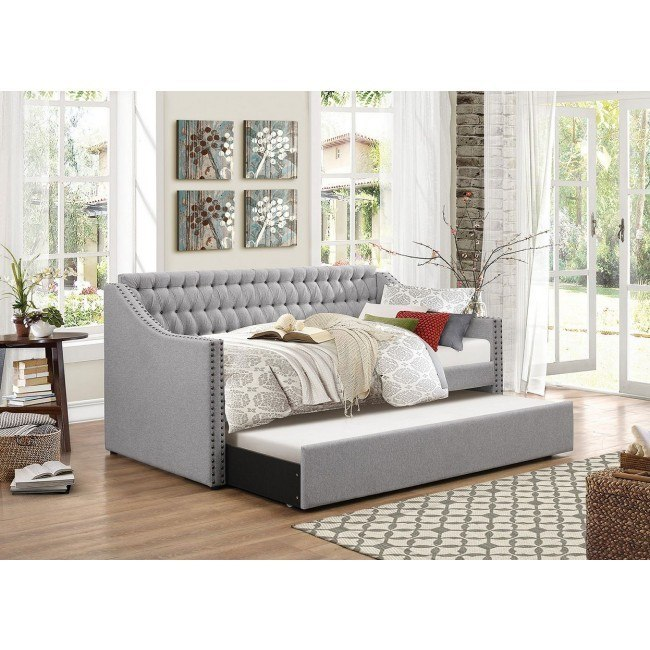 Tulney Daybed w/ Trundle (Gray)