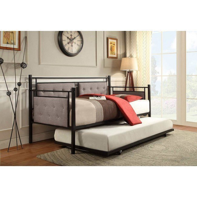 Octavia Metal Daybed w/ Trundle