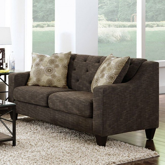 Avondale Loveseat (Charcoal)