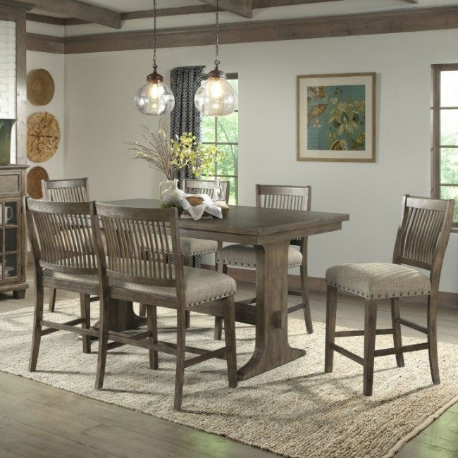 Incredible Charleston Counter Height Dining Room Set Squirreltailoven Fun Painted Chair Ideas Images Squirreltailovenorg