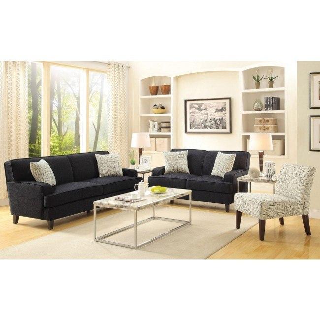 Finley Living Room Set (Graphite)