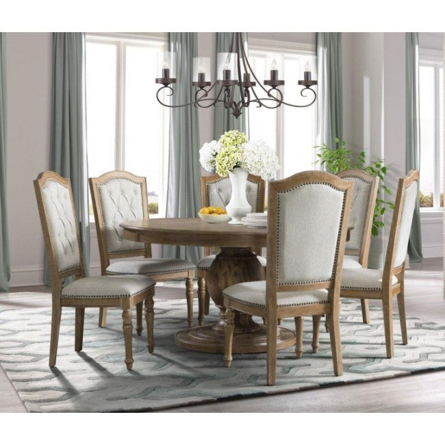 Cottage Charm Round Dining Room Set By