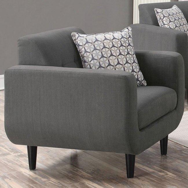 Stansall Chair (Grey)