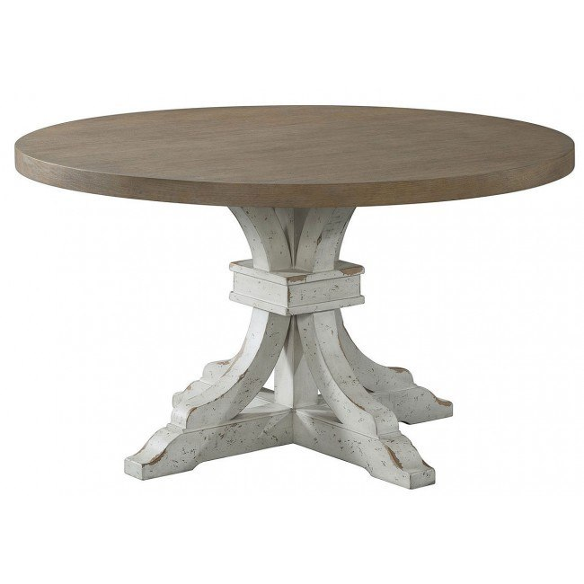 Vintage Revival Round Dining Table