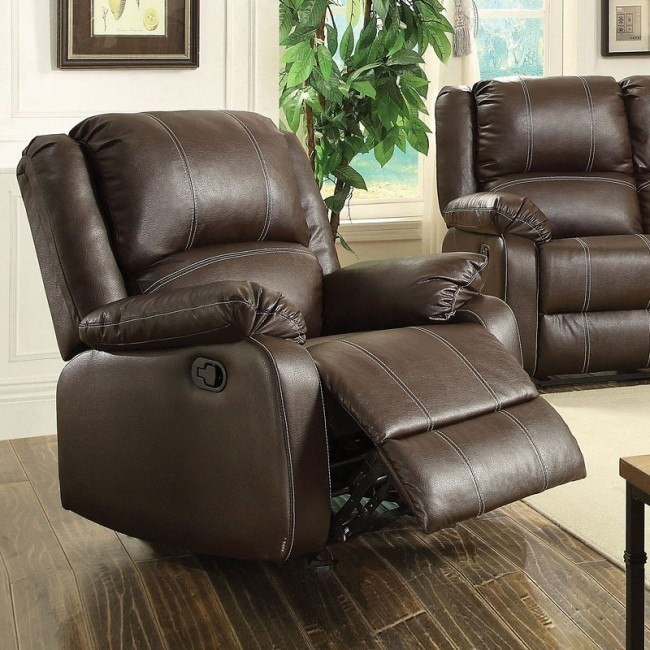 Zuriel Rocker Recliner (Brown)