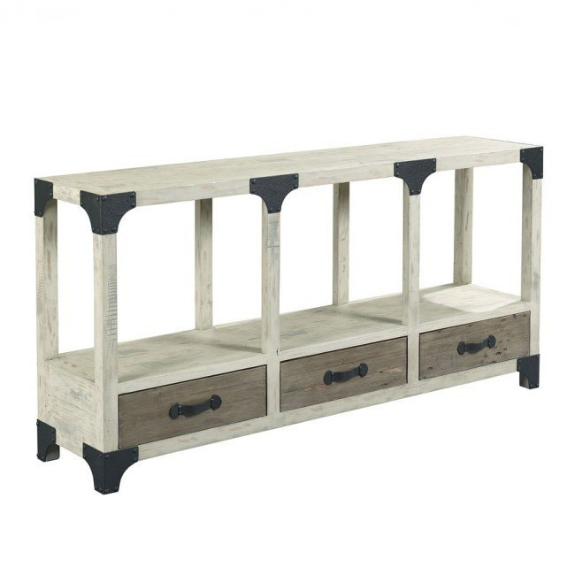 Reclamation Place Console Table (Willow and Natural)