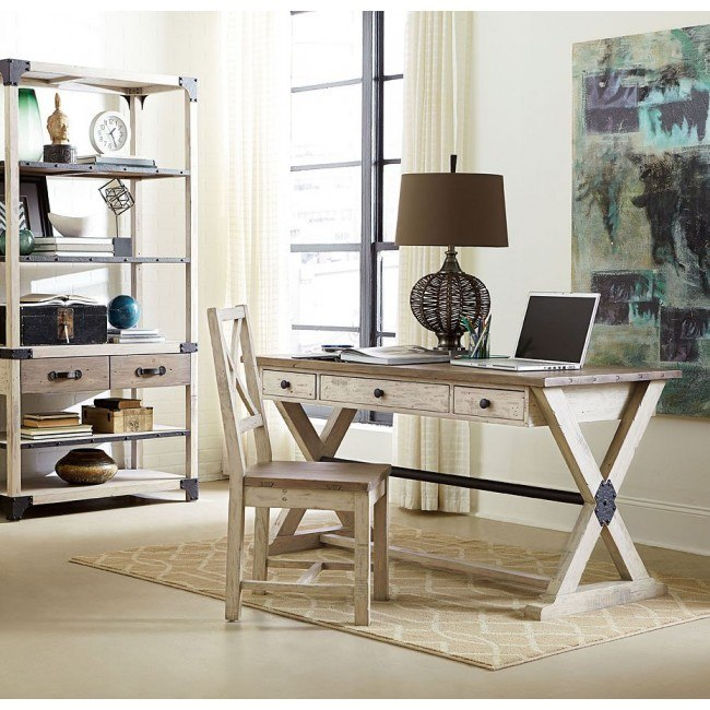Reclamation Place Home Office Set (Willow and Natural)