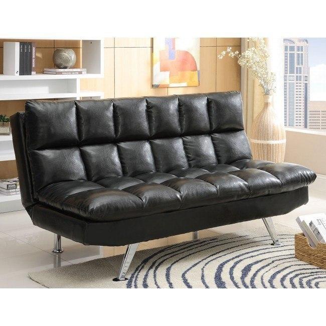 Sundown Adjustable Sofa Bed (Black)