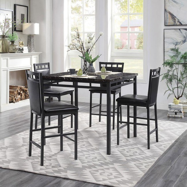 Fantastic Olney 5 Piece Counter Height Dining Room Set Ocoug Best Dining Table And Chair Ideas Images Ocougorg
