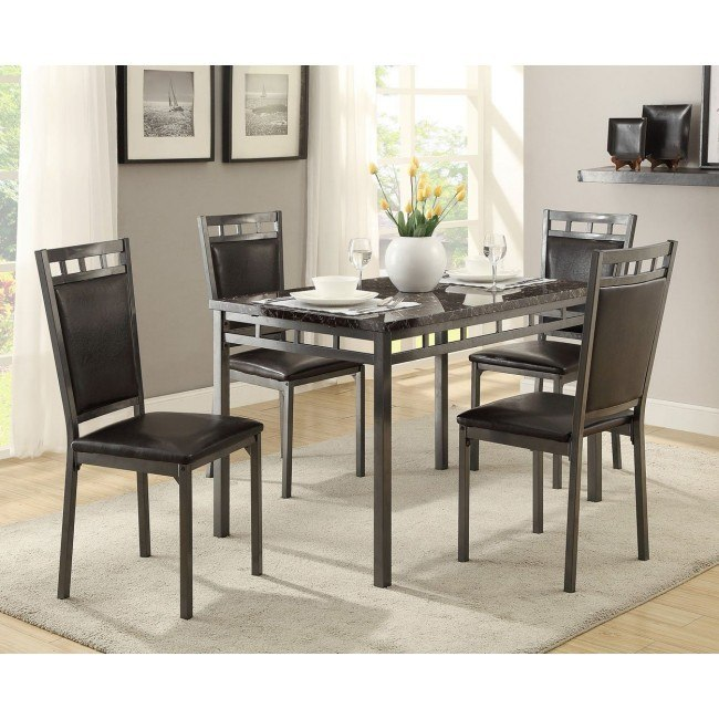 Stupendous Olney 5 Piece Dinette Ocoug Best Dining Table And Chair Ideas Images Ocougorg