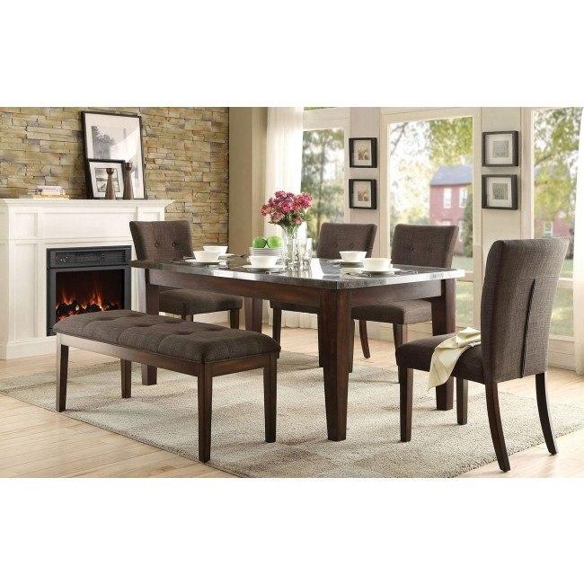 Dorritt Dining Room Set w/ Bench