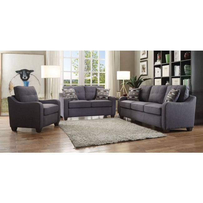 Cleavon II Smaller Living Room Set (Gray)