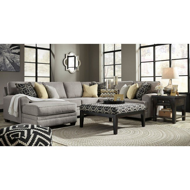 Cresson Pewter Modular Sectional Set