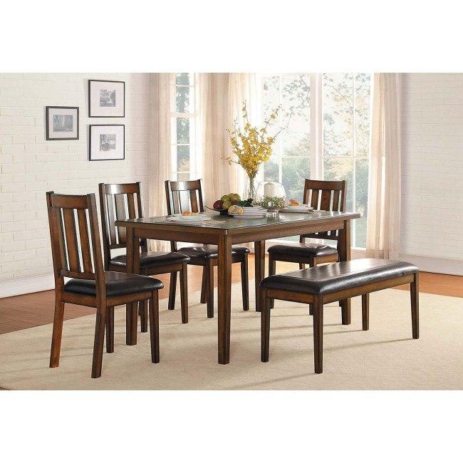 Delmar 6-Piece Dining Room Set