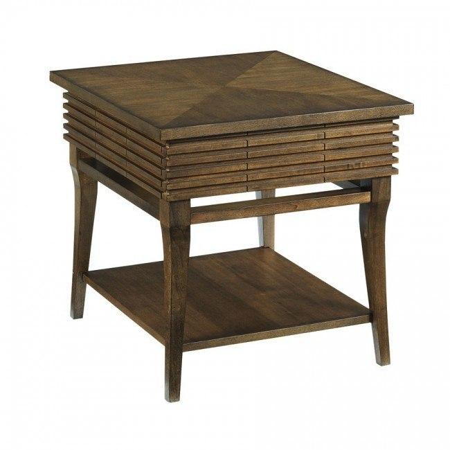 Groovy Rectangular Drawer End Table