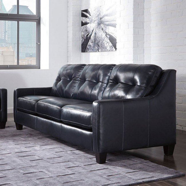 okean navy sofa by signature design by ashley 1 review s rh furniturepick com
