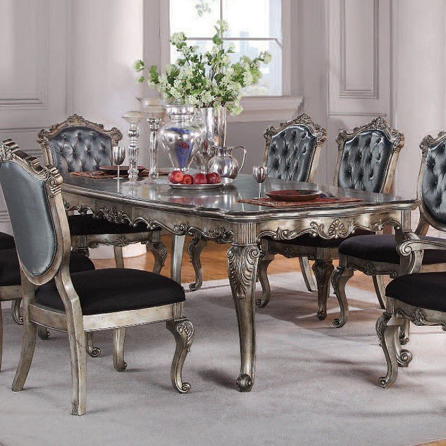 Chantelle Dining Table w/ Two Leaves