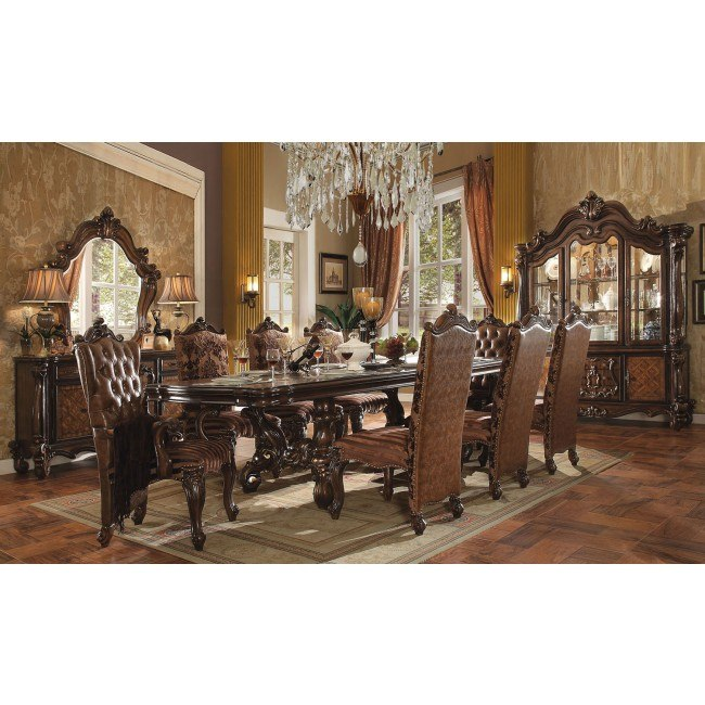 Versailles 120 Inch Dining Room Set (Cherry Oak) By Acme
