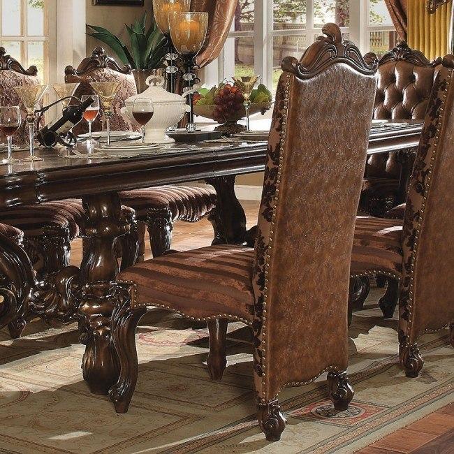 Versailles Side Chair (Cherry Oak) (Set of 2)
