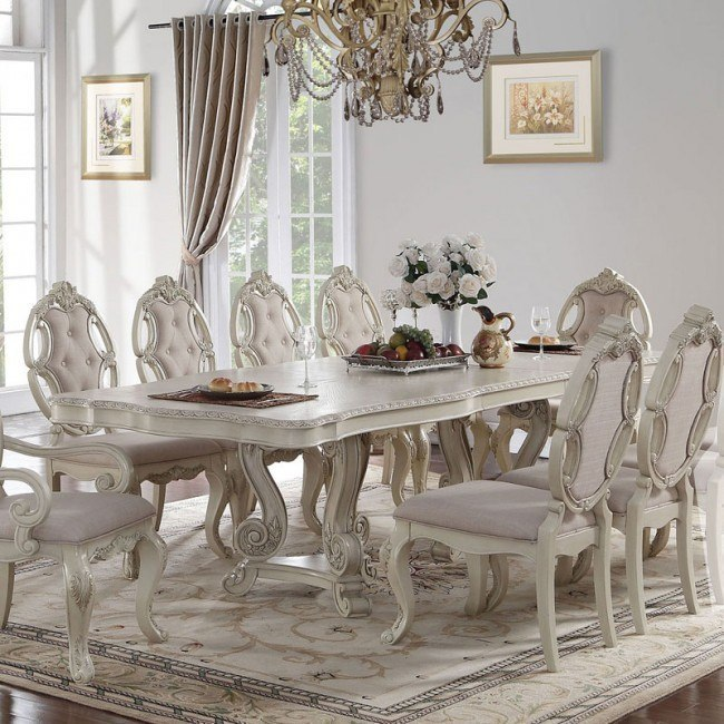 Ragenardus Dining Table (Antique White)