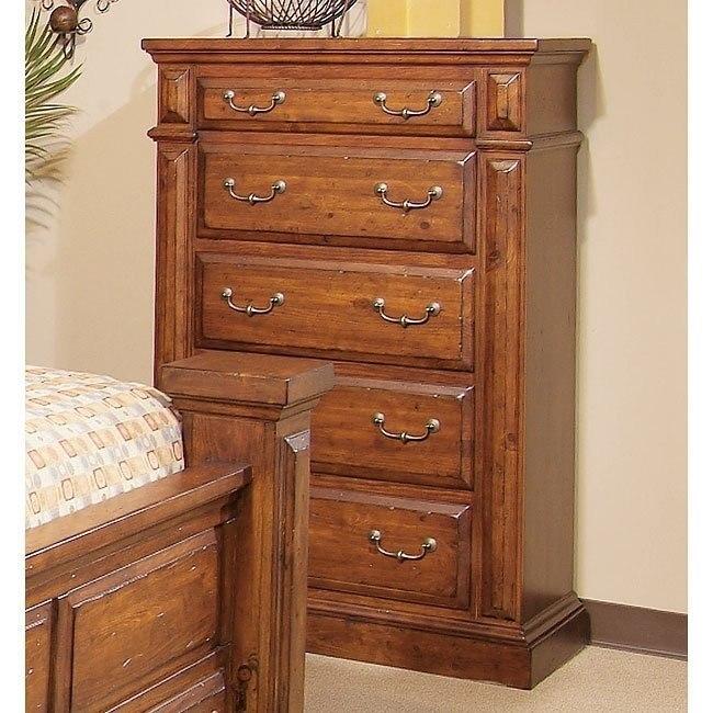Torreon Chest (Antique Pine) - Torreon Chest (Antique Pine) - Bedroom Furniture - Bedroom
