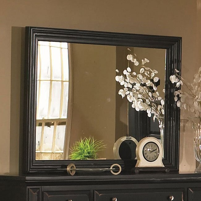 Torreon Mirror (Antique Black)