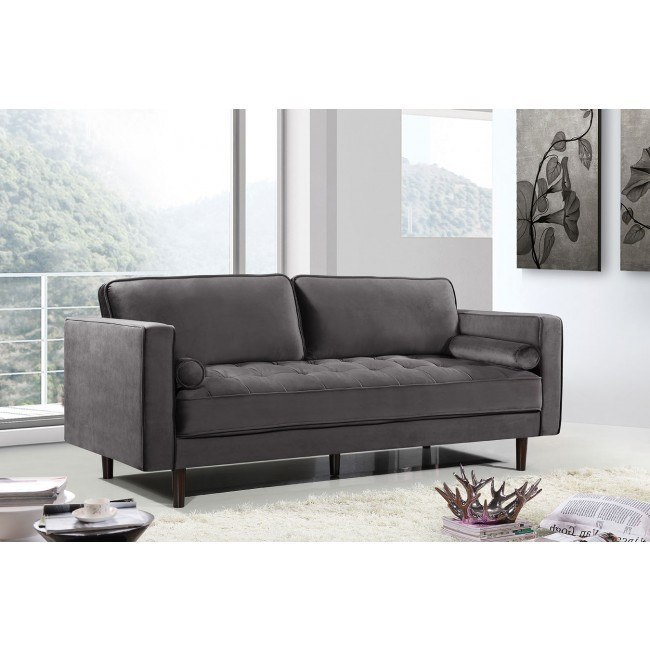 Emily Sofa Grey By Meridian Furniture