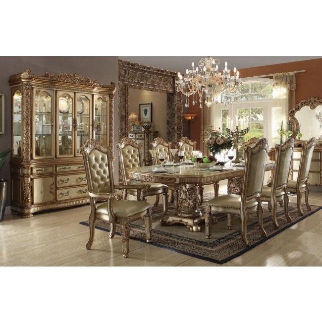 Vendome Dining Room Set (Gold Patina)